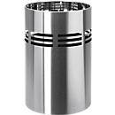 Metalen prullenbak Tronto Blomus, 20 liter,  Ø 250 x H 375 mm, RVS