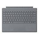 Microsoft Surface Pro Signature Type Cover - Tastatur - mit Trackpad - Deutsch - Light Charcoal