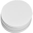 Moderationskarten, rund, ø 195 mm, 250 Stück, weiß