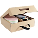Moderationskoffer Sigel Business für Pinboards, Kartonbox, T 240 x B 360 x H 80 mm, mit Tragegriff