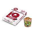 mondi Büropapier IQ Economy A4, 80 g/m², reinweiß, 1 Karton = 15 x 500 Blatt + Haribo Dose Saft-Goldbären Gratis