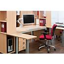 """Monitorarm Ergotron HX, für Monitore bis 42"""", ergonomisch, höhenverstellbar, mit Tischklemme, weiß"""