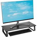 Monitorständer Kensington, extrabreit, für Full-Size-Tastatur, bis 32 Zoll, schwarz