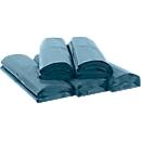 Müllsäcke Deiss Premium, für 240 l, durchstoß- & reißfest, Recycling-LDPE, 100 Stück, blau