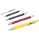 Multitasking-Kugelschreiber Construction, inkl. Lasergravur & allen Grundkosten, schwarz