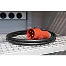 Netaansluitkabel voor veiligheidskast Acculading, 400 V, 3-fasen, om veiligheidsredenen. 3x16 A, 11,04 kW, 11,04 kW