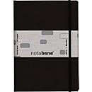 Notizbuch Notabene Ultra, 240 Seiten, Hardcover, schwarz