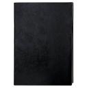 Notizbuch Trend, DIN A5, 160 karierte Blätter, Kunstleder schwarz