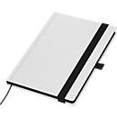 Notizbuch White Book Future, weiß, A5