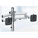 Novus monitor-zwenkarm TSS Duo 505, voor 2 beeldschermen, klem van 14 tot 40 mm, 2 x vouwarm