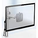 Novus Monitorsäule TSS Single 250, Klemme 14 bis 40 mm, H 445 mm, Tragkraft 10 kg