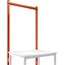 Opbouwframe, Basistafel STANDAARD werktafel-/werkbanksysteem UNIVERSAL/PROFI, 1250 mm, roodoranje<br/>