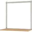 Opbouwframe & opbouwzuilen set, voor lage opbouwcomponenten, gepoedercoat, H 1600 mm