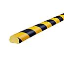 Oppervlaktebescherming type C, m1, geel/zwart