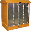 Opslagplaats voor gevaarlijke stoffen type GD-N/R2, oranje RAL2000