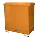 Opslagplaats voor gevaarlijke stoffen type GD-N2, oranje RAL2000