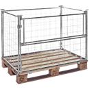 Opzetframe voor pallets type 64, 1200 x 800 x 1600 mm, gegalvaniseerd