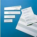 ORGATEX Kartoneinlagen Color, 38 x 150 mm, weiß, 210 St.
