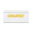 ORGATEX Magnet-Einsteckschilder Color, 35 x 100 mm, weiß, 100 St.
