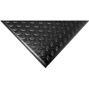 Orthomat® werkplekmat Diamond, zwart, 600 x 900 mm