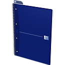 Oxford Office-Collegeblock, DIN A4+, 70 Blatt kariert, 5er Pack, blau