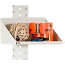 Packpool opbergbox, vooraan afgerond, afzetvlak B 240 x D 165 x H 120 mm