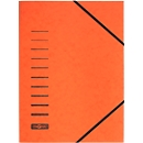 PAGNA elastomap, A4, elastieksluiting, 25 stuks, oranje