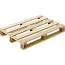 Pallet voor eenmalig gebruik 1200 x 800 mm, draagvermogen 1000 kg, 10 stuks