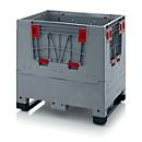 Palletbox Big Box, 2 sledes, 800 x 600 x 790 mm