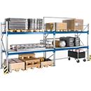 Palletstelling PR 600, basissectie, H 2500 mm, max. 800 kg, 2 dwarssteunen