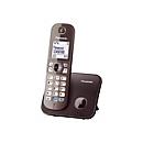 Panasonic KX-TG6811 - Schnurlostelefon mit Rufnummernanzeige