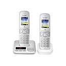 Panasonic KX-TGH722G - Schnurlostelefon - Anrufbeantworter mit Rufnummernanzeige/Anklopffunktion + zusätzliches Handset