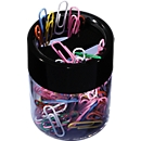 Papercliphouder, magnetisch, incl. paperclips