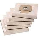 Papieren filterzakken voor nat- en droogzuiger KÄRCHER® T 48/1 ADV, 5 stuks