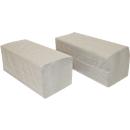 Papieren handdoekjes SCHÄFER SHOP zigzagvouwen, 1-laags, L 250 x B 230 mm, scheurvast, 5000 vellen, natuurkleur