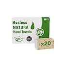 Papierhandtücher Kimberly Clark Hostess™ Natura™, Zick-Zack-Falzung, 2-lagig, 20 x 180 Blatt, Recyclingpapier, grau