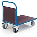 Plateauwagen, 1600 x 800 mm, draagvermogen 1.200 kg