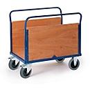 Plateauwagen met 2 wanden, 850 x 470 mm