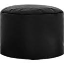 Poef DotCom scuba®, voor zitzak Swing, wasbaar, PVC gecoat aan de binnenzijde, zwart