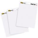 Post-it® Haftnotizblock Meeting Charts 559P-3, 635x762 mm, 3x30 Blatt blanko, selbstklebend, weiß