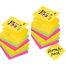 Post-it® Haftnotizen Super Sticky Z-Notes, 12 Blöcke, 76 x 76 mm