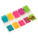 Post-it Index Streifen Mini 683-5, türkis, gelb, pink, lila, lemon