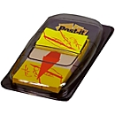 Post-it Index Streifen Standard 680-31, gelb mit Unterschrift