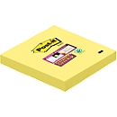 POST-IT notitieblaadjes super sticky, 76 mm x 76 mm, 90 vellen, 1 blok, kanariegeel