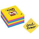 Post-it® Super Sticky Notes 675-S6R Rio de Janeiro, 101 x 101 mm, 6 x 90 vellen, gelinieerd, gekleurd