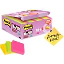 Post-it® zelfklevende notitieblaadjes super sticky Z-Notes, 24 blokken, 48 x 48 mm