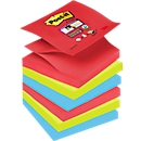 Post-its super sticky Z-Notes, Bora Bora Collection