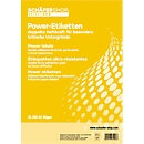 Power etiketten 45,7 x 21,2 mm, 25 vellen