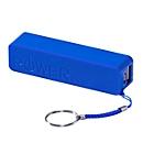 Powerbank, 2200mAh, Blau, Standard, Auswahl Werbeanbringung optional