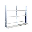 Profiel-magazijnrek, eenzijdig, aanbouwsectie, H 3000 x L 1500 x D 340 mm
